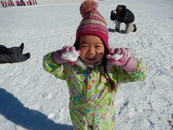 88雪遊び
